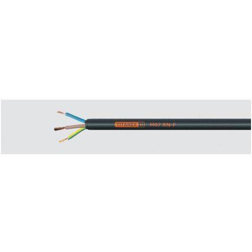 h07 rn-f 3x2,5 przewód gumowy 450/750v przemysłowy, giętki marki Titanex