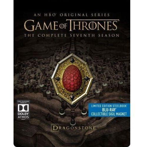 Gra o tron, sezon 7 (3bd) steelbook (płyta bluray) marki David nutter, alan taylor, timothy van patten, daniel minahan, brian k