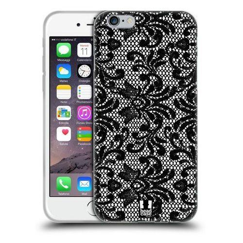 Etui silikonowe na telefon - Black Lace DAMASK