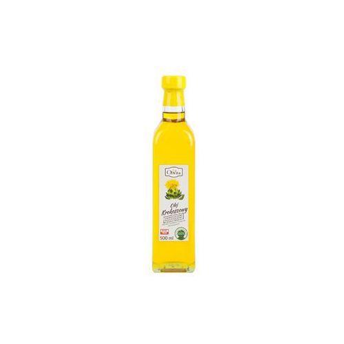 Olej krokoszowy tłoczony na zimno nieoczyszczony 500 ml Olvita