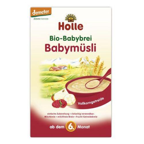 Holle - bezmleczna kaszka musli malinowo-bananowa 250g eko