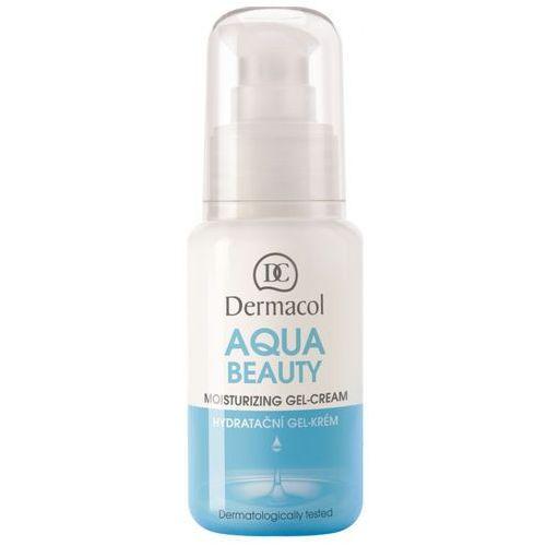 Dermacol aqua beauty moisturizing gel-cream | krem nawilżający na dzień i noc 50ml