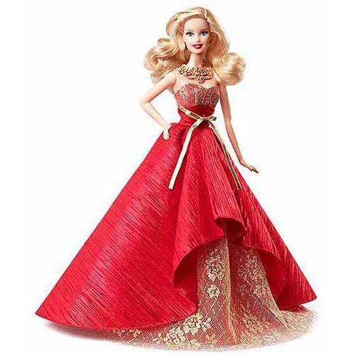 Mattel Świąteczna Barbie - sprawdź w Mall.pl