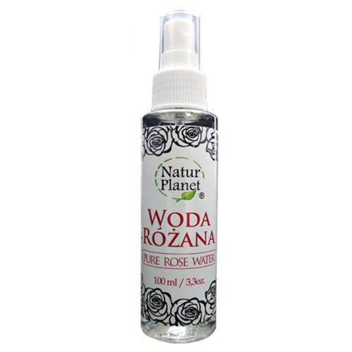 Natur planet pure rose water woda różana