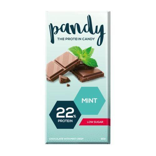 Pandy protein - czekolada proteinowa bez dodatku cukru - miętowa (7350000150667)