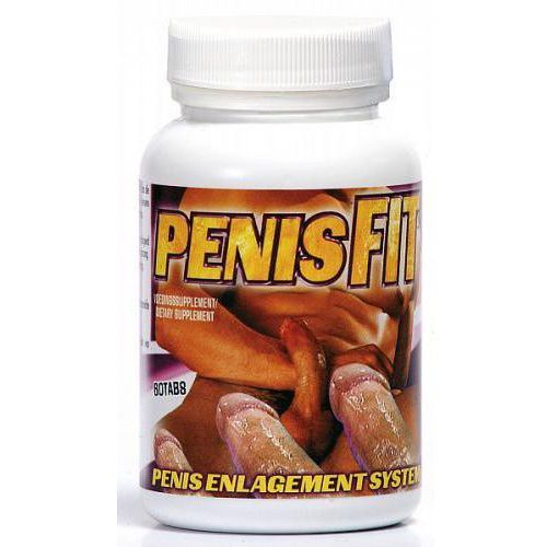 Tabletki na powiększenie penisa Penis Fit 60szt, Kolor: White (8718546540271)