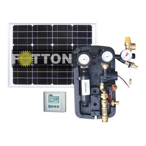 Autonomiczny zestaw zasilająco-sterujący FOTTON POWER 2DC, do kolektorów słonecznych Układ autonomicznego zasilania do zestawów z kolektorami słonecznymi FOTTON POWER 2DC