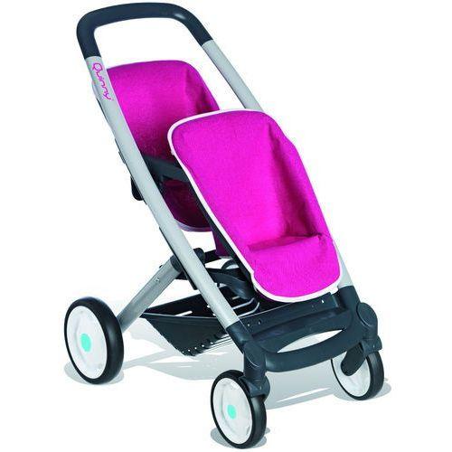 Smoby Sportowy wózek Quinny dla bliźniaków - oferta [25e5dfab9f63c5c8]