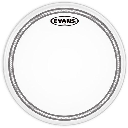 Evans b12ec2s naciąg perkusyjny 12″, biały przeźroczysty
