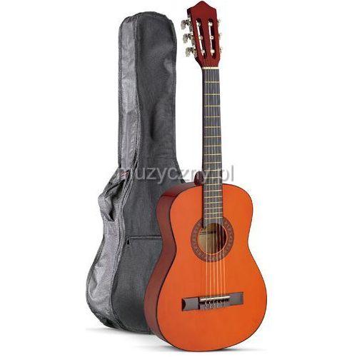 Stagg c510 natural gitara klasyczna 1/2 - zestaw
