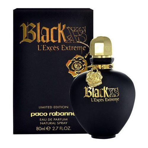 Paco Rabanne Black XS Woman 80ml EdT