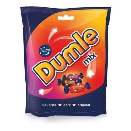 Dumle MIX 3 smaki: original, dark, liquorice 220g