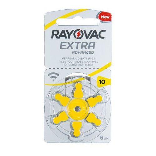 Rayovac Extra Advanced 10 EMF baterie do aparatów słuchowych - 6szt.
