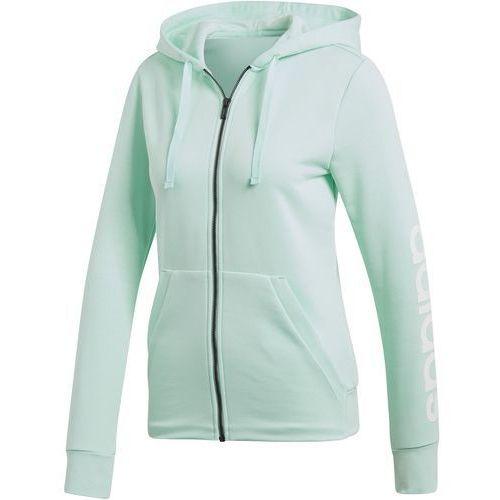 Bluza z kapturem adidas Essentials Linear DN8509, kolor biały