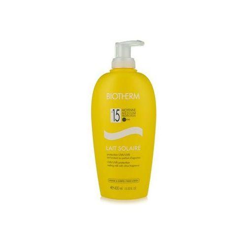 lait solaire mleczko do opalania spf 15 (melting milk with citrus fragrance) 400 ml marki Biotherm