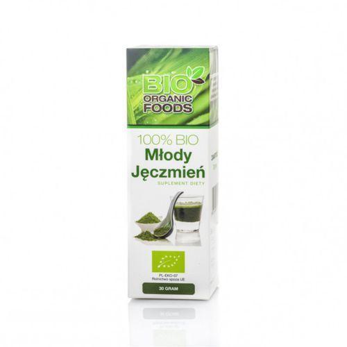 Młody zielony jęczmień 30g - ekstrakt 100% sok - marki Bio organic foods