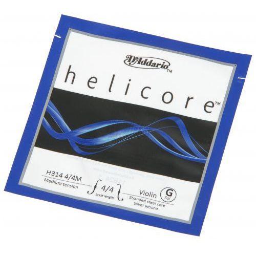 helicore h-314 struna g do skrzypiec 4/4 marki D′addario
