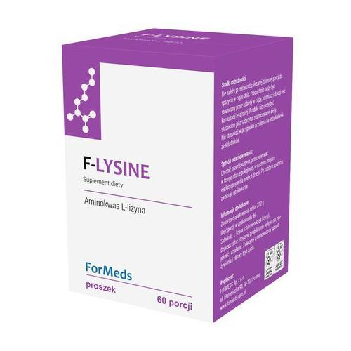 FORMEDS F- LYSINE, L-LIZYNA, 60 PORCJI, SUPLEMENT DIETY