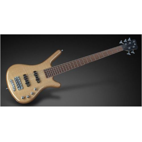 RockBass Corvette Premiuim 5-str. Natural Transparent High Polish, Fretted gitara basowa