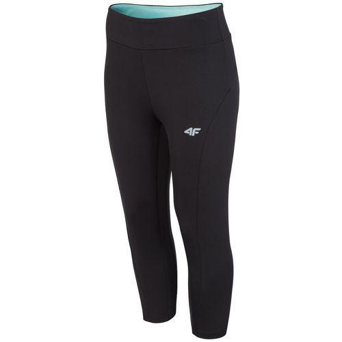 4f Damskie spodnie legginsy sportowe z18 spdf001 czarny m