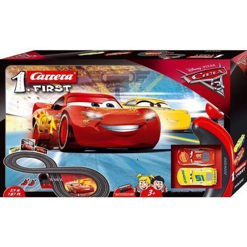 FIRST Disney Cars 3 - Carrera. DARMOWA DOSTAWA DO KIOSKU RUCHU OD 24,99ZŁ (4007486630109)