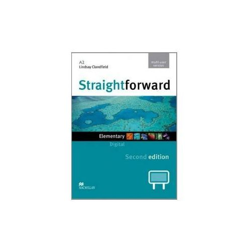 StraightForward 2Ed Elementary. Oprogramowanie Tablic Interaktywnych (Multi User) (2012)