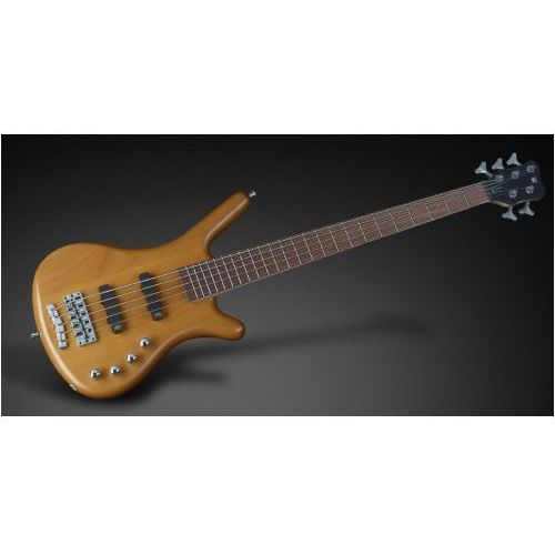 Rockbass corvette basic 5-str. honey violin transparent satin, fretted gitara basowa