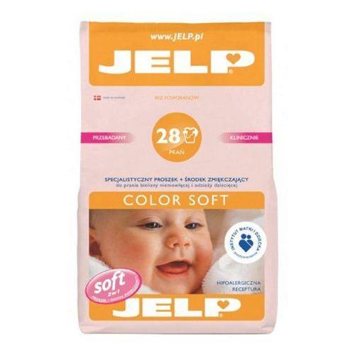 JELP 2,24kg Color Soft Hipoalergiczny proszek do prania dla dzieci (28 prań) (proszek do prania ubrań)