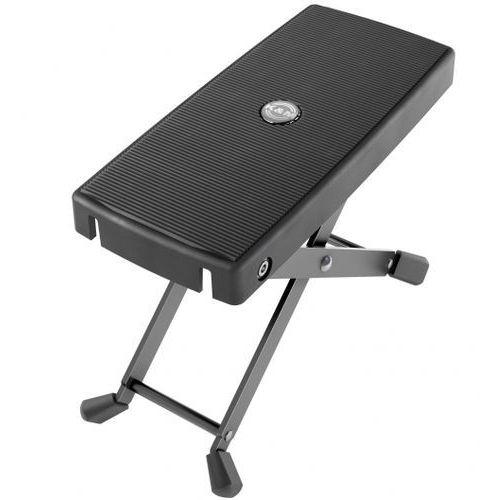 K&m 14640-000-55 podnóżek dla gitarzysty, czarny waga 0,3 kg