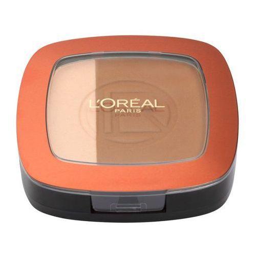 L'oreal paris, glam bronze. puder brązujący, 102 brunette harmony, 9g - l'oreal paris (3600521084700)