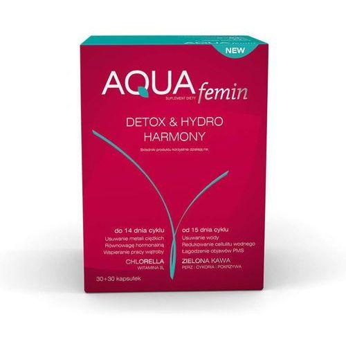 Aqua femin detox & hydro harmony 30+30 kapsułek marki Holbex