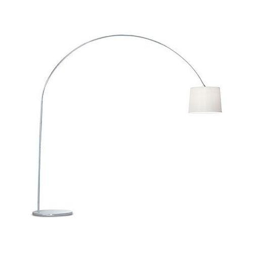 Ideal lux 12605 lampa podłogowa dorsale pt1 biała/chrom