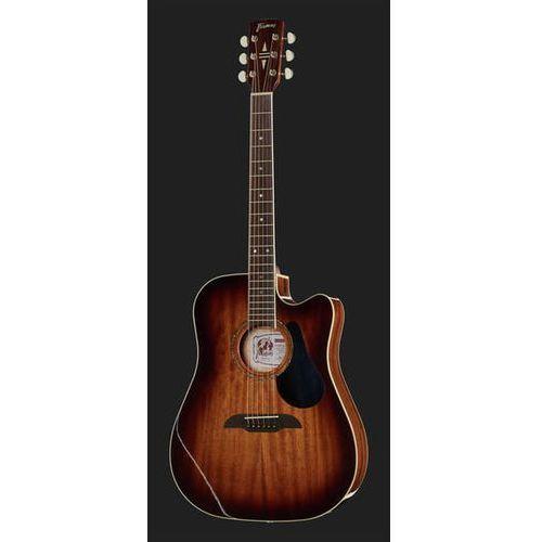 Framus FD 14M Vintage Sunburst gitara elektroakustyczna cutaway