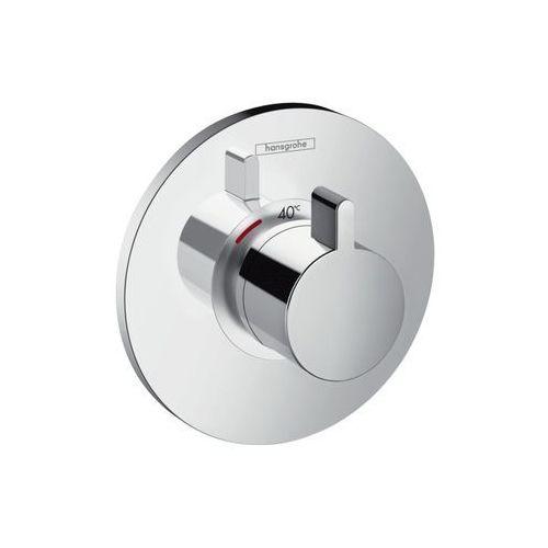 Ecostat Hansgrohe bateria termostatyczna podtynkowa ecostat s high flow element zewnętrzny chrom - 15756000 15756000 producenta Hansgrohe