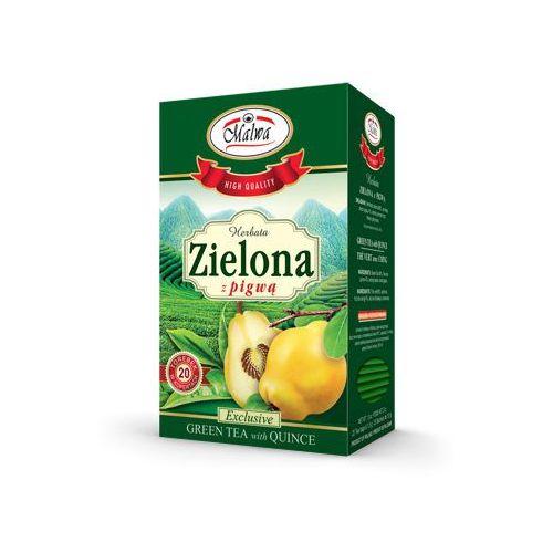 Herbata zielona + pigwa 20fix MALWA, 5902781001786