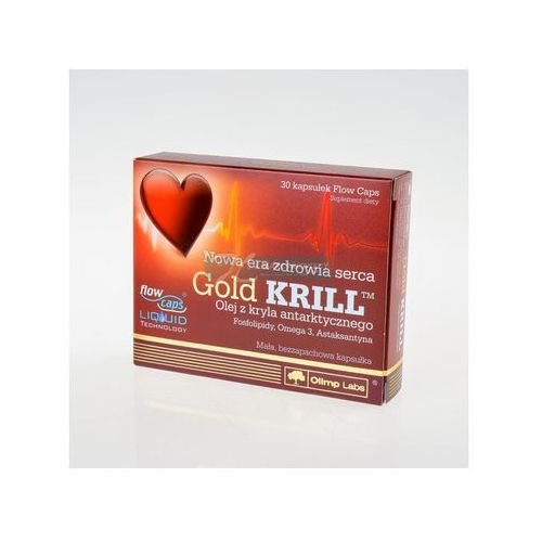 Olimp Gold KRILL kapsułki miękkie, 30 szt. (5901330032011)