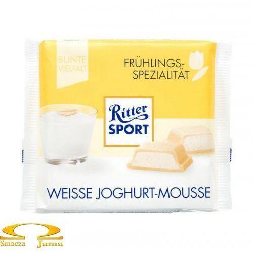 Czekolada weisse joghurt-mousse 100g marki Ritter sport