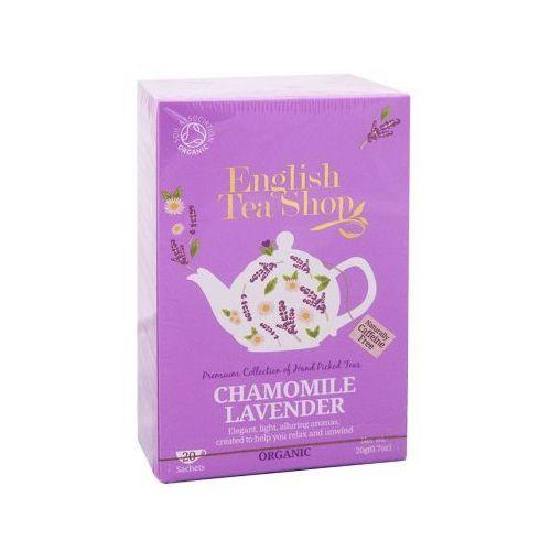 English tea shop Ets chamomile lavender 20 saszetek