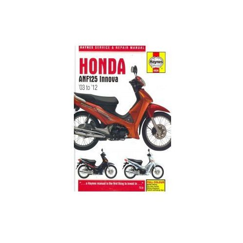 Repair manual sprawd str 5 z 14 honda anf125 innova service and repair manual 12486 z the aim of this manual is to help readers get the best from their motorcycle fandeluxe Choice Image