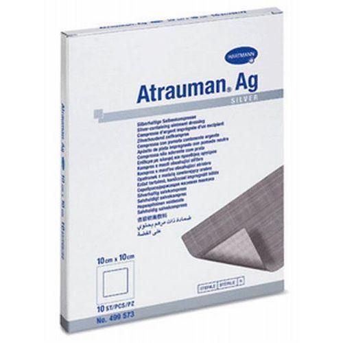 Hartmann atrauman ag opatrunek do leczenia ran zakażonych 10 x 10cm, 10szt