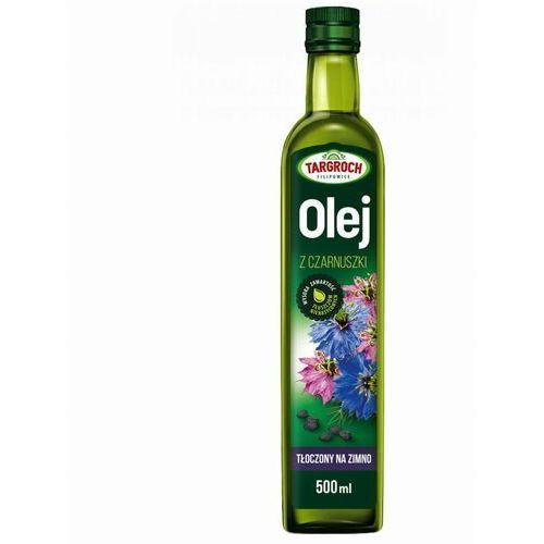 Olej z czarnuszki tłoczony na zimno, nierafinowany 500ml - Targroch