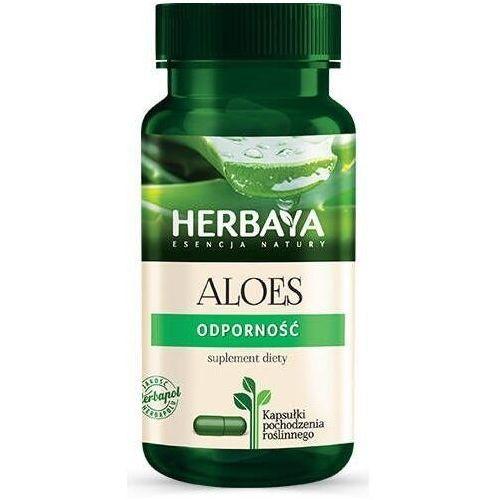 Herbapol lublin Herbaya aloes odporność x 60 kapsułek