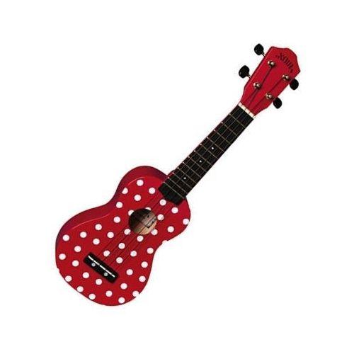 Noir nu1s - ladybug ukulele sopranowe marki Baton rouge