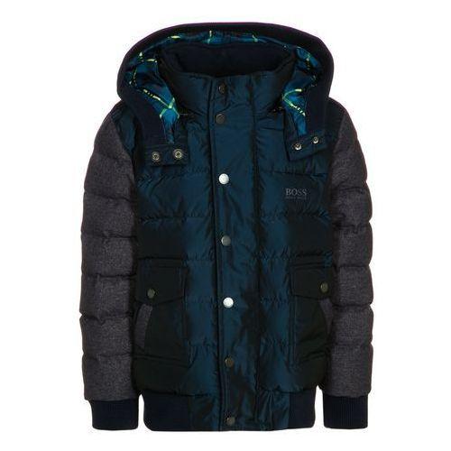 BOSS Kidswear Kurtka puchowa marine - produkt z kategorii- kurtki dla dzieci
