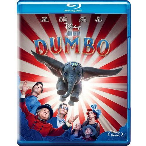 Tim burton Dumbo (bd) (płyta bluray)