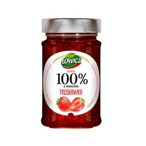 Łowicz 220g 100% z owoców truskawka