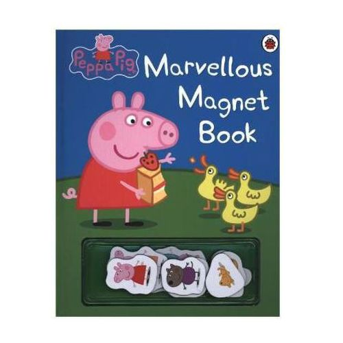 PEPPA PIG: MARVELLOUS MAGNET BOOK (10 str.)