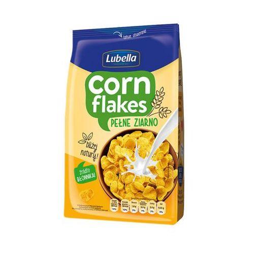 Lubella 500g corn flakes pełnoziarniste płatki kukurydziane
