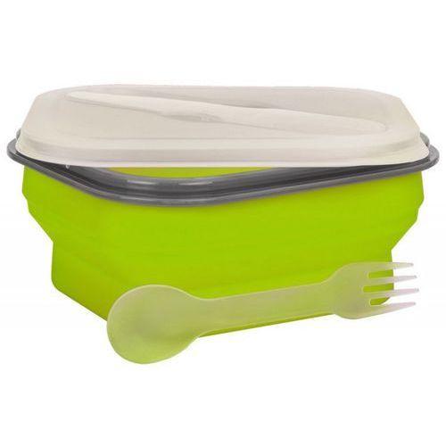 Lunch Box MPM Smile Sls-2 Silikonowy 600 ml Zielony (5901308009427)