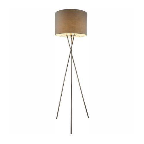 Globo Lampa podłogowa gustav 1x60w e27 brązowa/chrom 24687